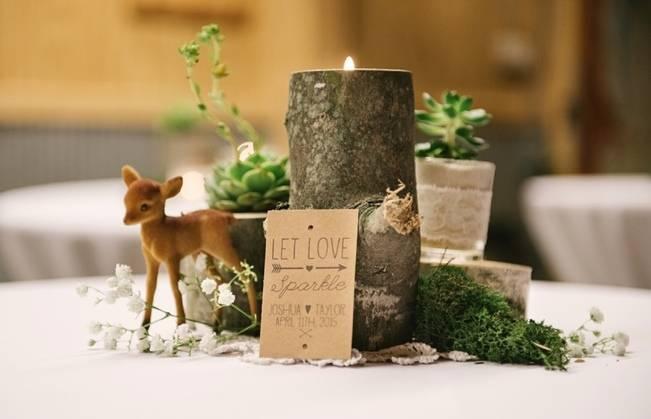 Deer Themed Woodland Wedding {Allie Siarto Photography} 18