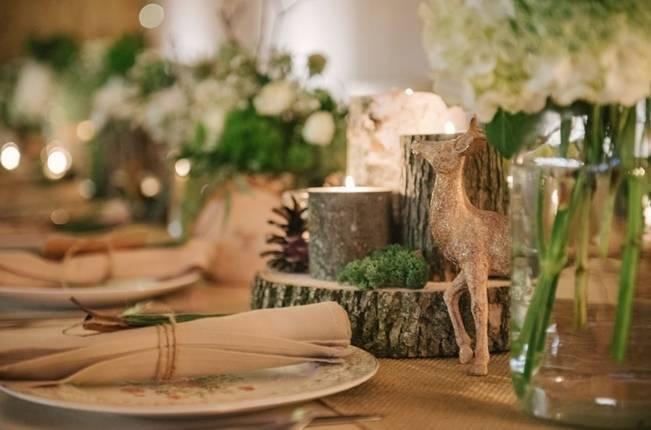 Deer Themed Woodland Wedding {Allie Siarto Photography} 19