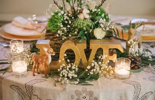 Deer Themed Woodland Wedding {Allie Siarto Photography} 20