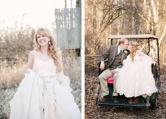 Deer Themed Woodland Wedding {Allie Siarto Photography} 7