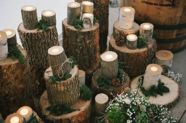 Deer Themed Woodland Wedding {Allie Siarto Photography} 8