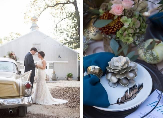 Elegant Fall Barn Wedding at Vintage Oaks Ranch {Shelly Taylor Photography} 11