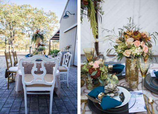 Elegant Fall Barn Wedding at Vintage Oaks Ranch {Shelly Taylor Photography} 13