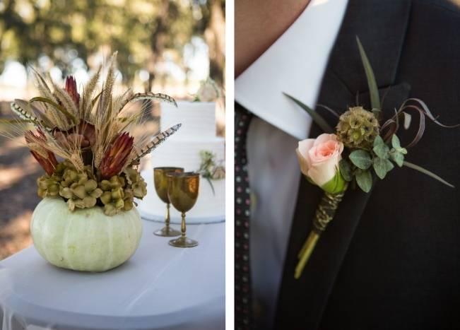 Elegant Fall Barn Wedding at Vintage Oaks Ranch {Shelly Taylor Photography} 5