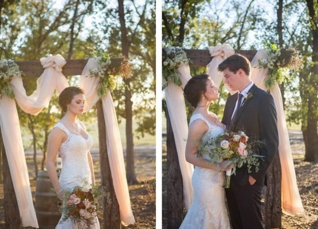 Elegant Fall Barn Wedding at Vintage Oaks Ranch {Shelly Taylor Photography} 7
