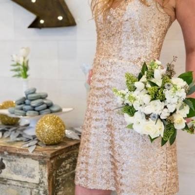 Glittering New Years + Winter Wedding Inspiration