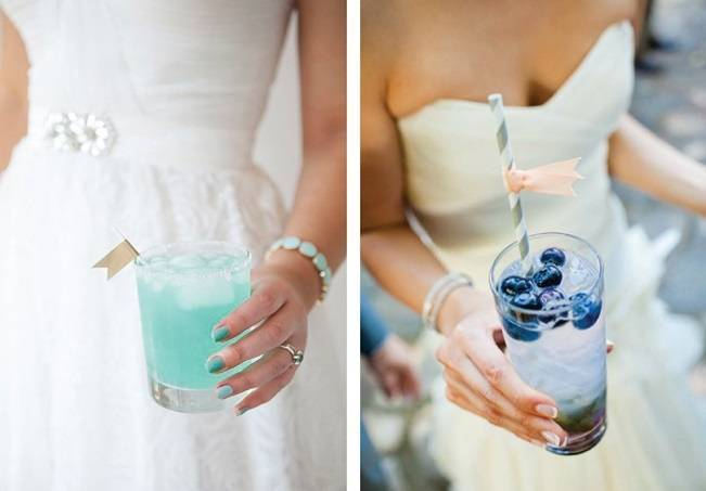 Blue cocktails for your something blue