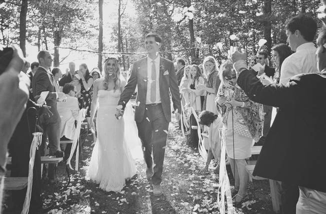 Boho Chic Vermont Wedding at Bolton Valley - Birke Photography 13
