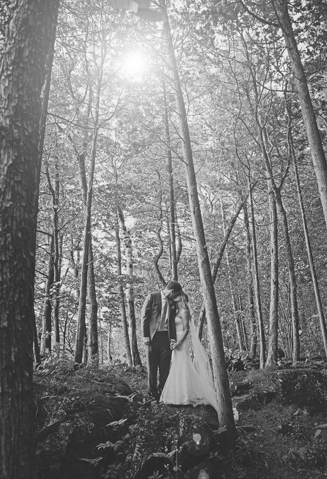 Boho Chic Vermont Wedding at Bolton Valley - Birke Photography 17
