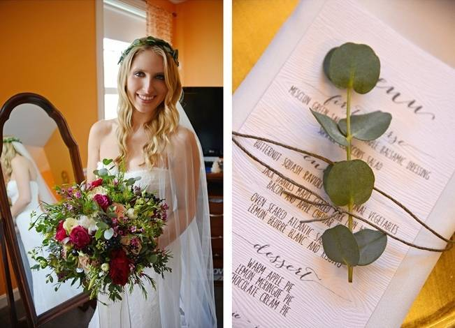 Boho Chic Vermont Wedding at Bolton Valley - Birke Photography 4