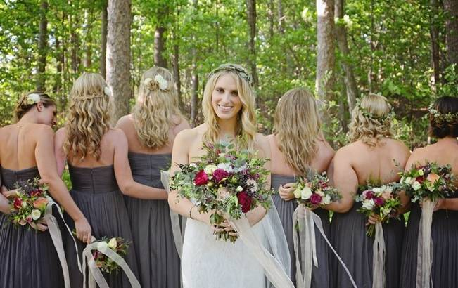 Boho Chic Vermont Wedding at Bolton Valley - Birke Photography 6