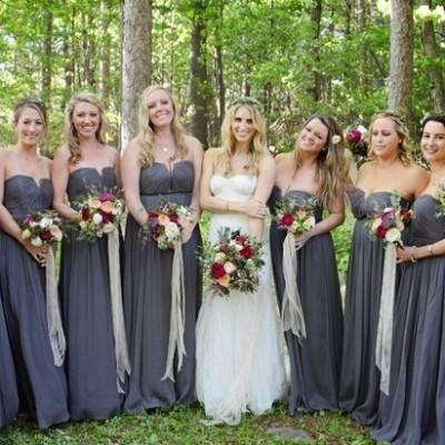 Boho Chic Vermont Wedding at Bolton Valley