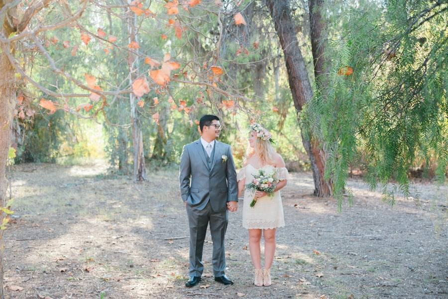 Boho Courthouse and Forest Elopment in California 14