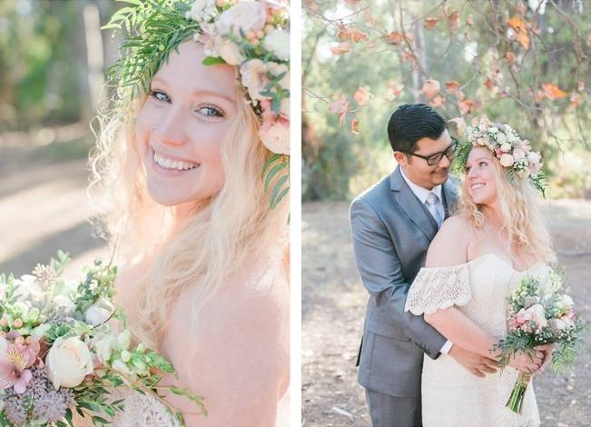 Boho Courthouse and Forest Elopment in California 2
