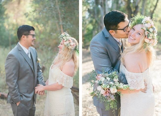 Boho Courthouse and Forest Elopment in California 7