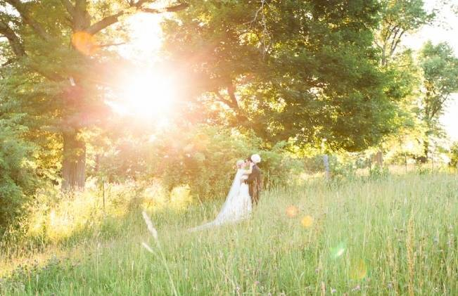 New England Castle and Barn Wedding at Gibbet Hill 14