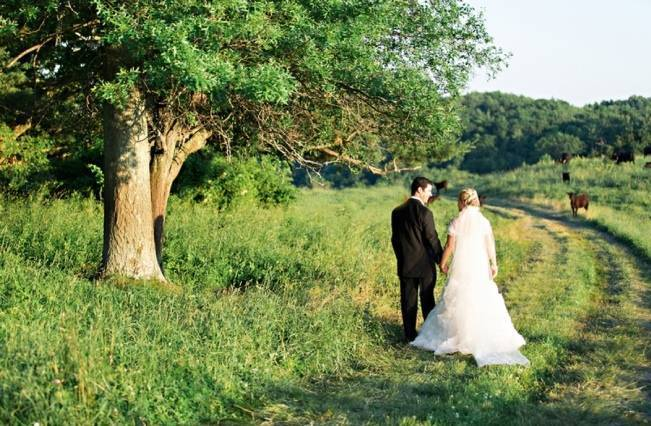 New England Castle and Barn Wedding at Gibbet Hill 15