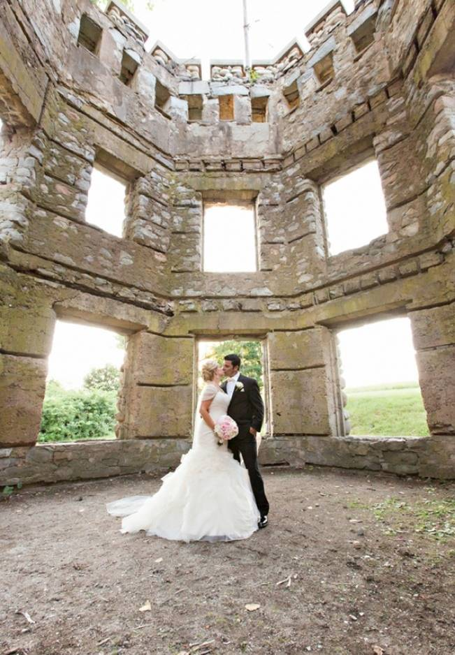 New England Castle and Barn Wedding at Gibbet Hill 16