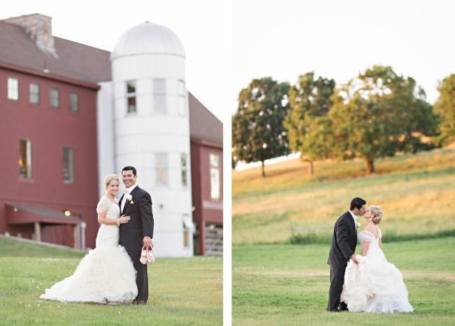 New England Castle and Barn Wedding at Gibbet Hill 19