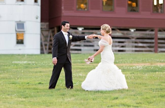New England Castle and Barn Wedding at Gibbet Hill 20
