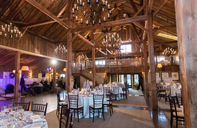 New England Castle and Barn Wedding at Gibbet Hill 24