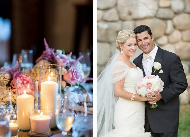 New England Castle and Barn Wedding at Gibbet Hill 25