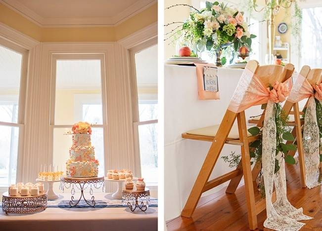 Peach + Gold Early Spring Wedding Inspiration 11
