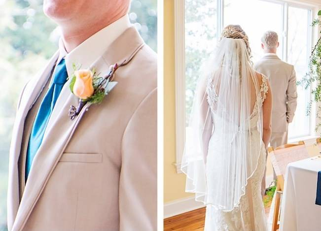Peach + Gold Early Spring Wedding Inspiration 2