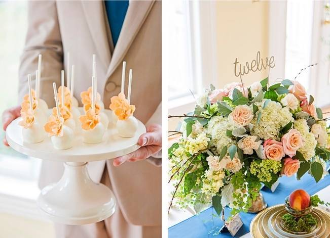 Peach + Gold Early Spring Wedding Inspiration 7