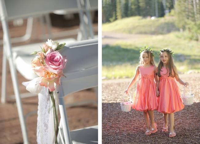 Pink + Peach Mountain Wedding at Canyons Resort {Pepper Nix Photography} 10