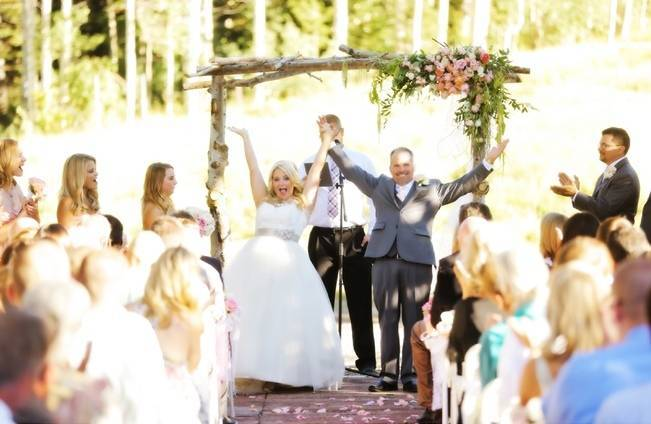 Pink + Peach Mountain Wedding at Canyons Resort {Pepper Nix Photography} 13