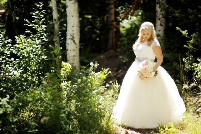 Pink + Peach Mountain Wedding at Canyons Resort {Pepper Nix Photography} 3