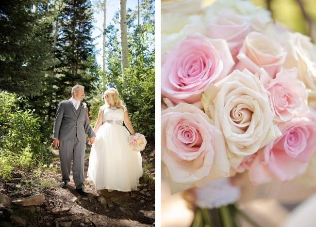 Pink + Peach Mountain Wedding at Canyons Resort {Pepper Nix Photography} 4