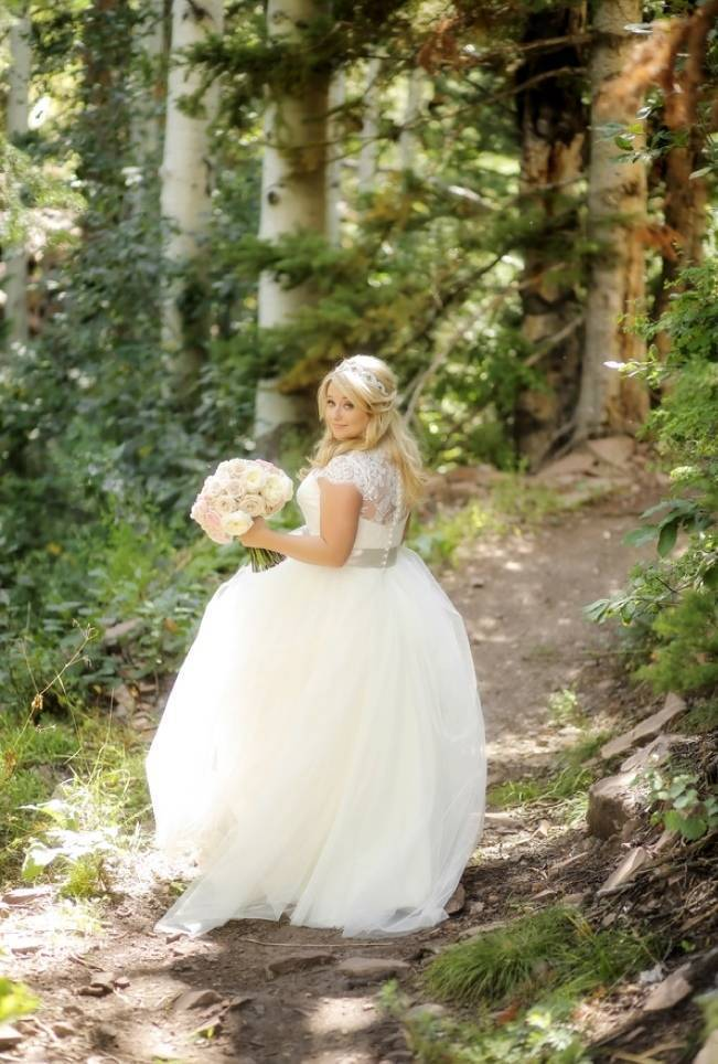 Pink + Peach Mountain Wedding at Canyons Resort {Pepper Nix Photography} 5