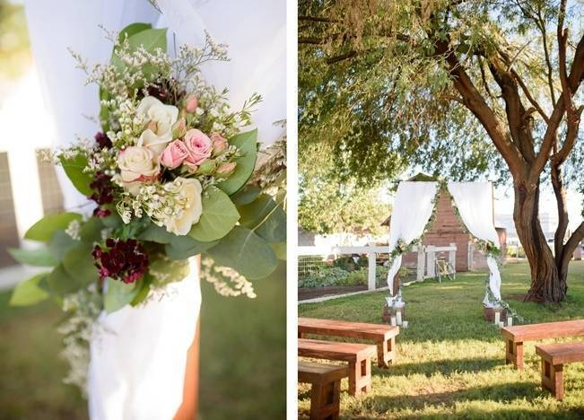 Rustic Glam Inspired Wedding at Webster Farm - The Amburgeys 10