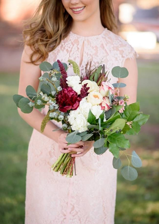 Rustic Glam Inspired Wedding at Webster Farm - The Amburgeys 11