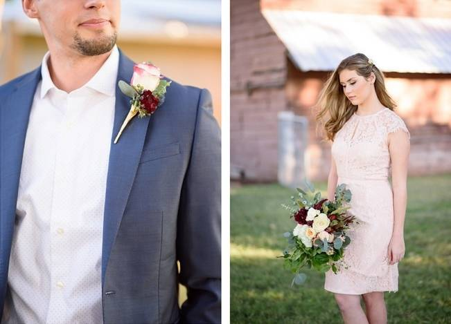 Rustic Glam Inspired Wedding at Webster Farm - The Amburgeys 12