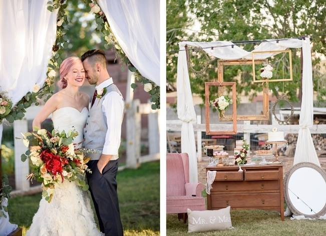 Rustic Glam Inspired Wedding at Webster Farm - The Amburgeys 13.5