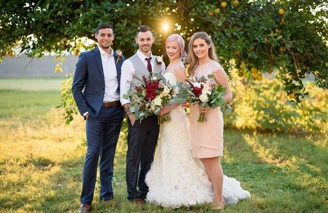Rustic Glam Inspired Wedding at Webster Farm - The Amburgeys 14
