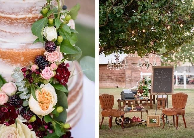 Rustic Glam Inspired Wedding at Webster Farm – The Amburgeys 15
