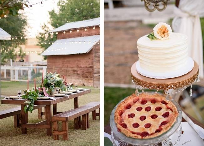 Rustic Glam Inspired Wedding at Webster Farm - The Amburgeys 17