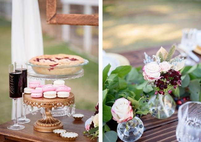 Rustic Glam Inspired Wedding at Webster Farm - The Amburgeys 19