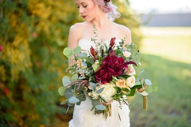 Rustic Glam Inspired Wedding at Webster Farm – The Amburgeys 5