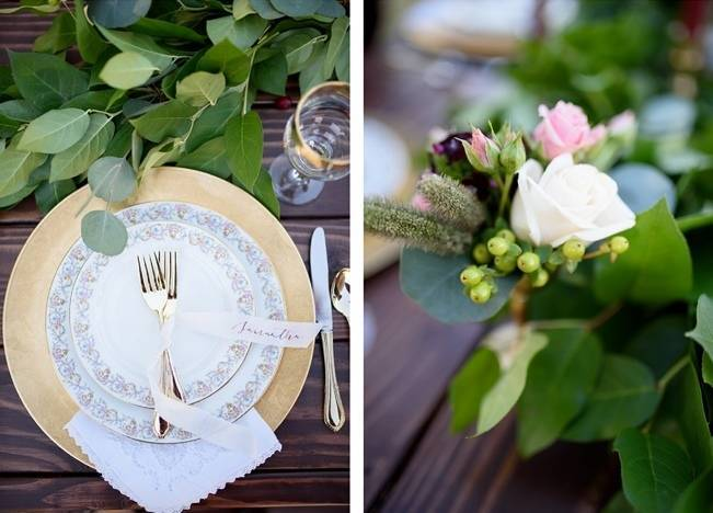 Rustic Glam Inspired Wedding at Webster Farm – The Amburgeys 6
