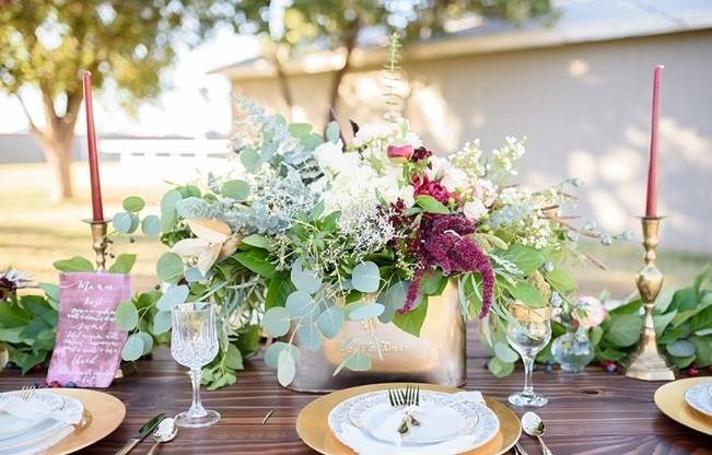 Rustic Glam Inspired Wedding at Webster Farm – The Amburgeys 7
