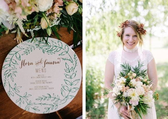 Rustic Wisconsin Inspired Wedding Style at Maidenwood Lodge 16