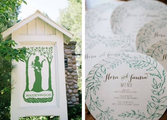 Rustic Wisconsin Inspired Wedding Style at Maidenwood Lodge 4