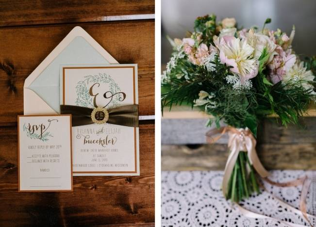 Rustic Wisconsin Inspired Wedding Style at Maidenwood Lodge 9