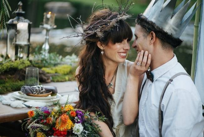 'Where the Wild Things Are' Styled Wedding Inspiration 11
