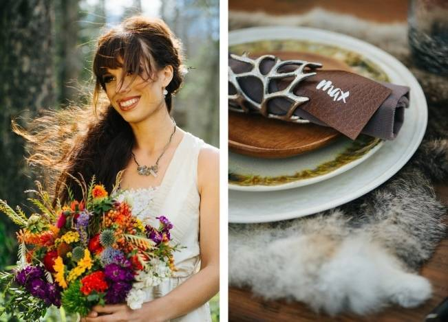 'Where the Wild Things Are' Styled Wedding Inspiration 13